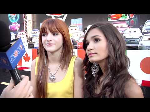 Bella Thorne & Pia Mia Talk 'Shake It Up' At 'Cars 2' Premiere