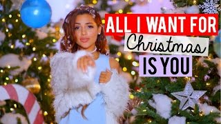 getlinkyoutube.com-All I Want For Christmas is You- Mariah Carey COVER | Niki and Gabi