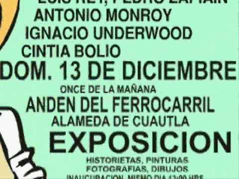 memin pinguin invita ix aniversario MUCAHI museo comic historieta mexicana.wmv
