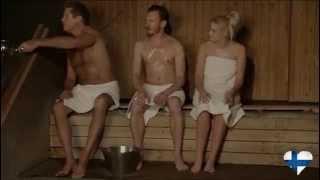 getlinkyoutube.com-David Hasselhoff going to a finnish sauna @MichanFinlandia