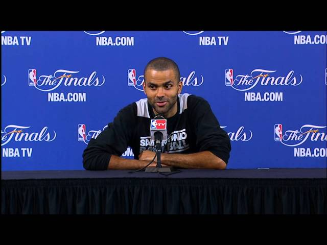 Tony Parker NBA Finals Press Conference: Mindset for Game 7