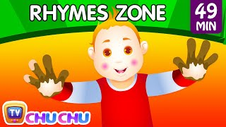 Johny Johny Yes Papa | Popular Nursery Rhymes Playlist for Children | ChuChu TV Rhymes Zone For Kids