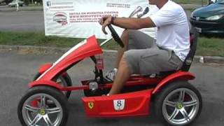 getlinkyoutube.com-Berg Toys Kartings - Demostracion en el playón del Lago - Tandil