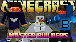 getlinkyoutube.com-GÖZLERİMİZ KANADI! - Master Builders - Minecraft Yapı Yapıp Patlatma