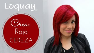 getlinkyoutube.com-Cabello Rojo Cereza paso a paso