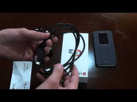 فتح صندوق جهاز LG G2
