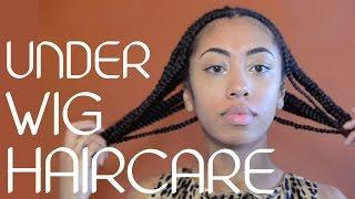 getlinkyoutube.com-Protective Braids & Under Wig Hair Care!