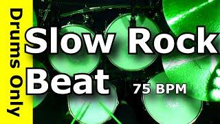 Slow Rock Drum Beat 75 BPM - JimDooley.net