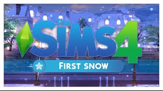 getlinkyoutube.com-The Sims 4 | First Snow | Review