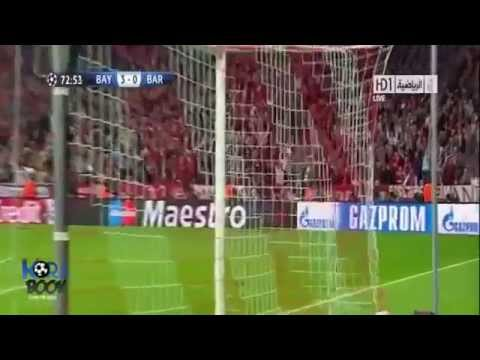 Bayern Munich VS Barcelona 4-0 (23-4-2013) All Goals & Highlights UEFA Champions League