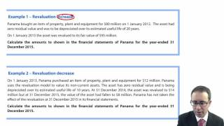 ACCA P2 Property, plant and equipment (IAS 16) -  Revaluation increase