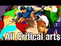 Street Fighter 5 All Critical Arts Ultra Style Characters Supers, & Intros  【HD】 Street Fighter V