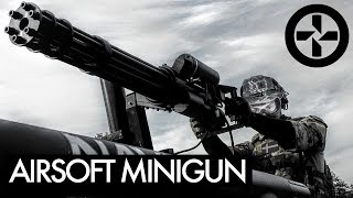 AIRSOFT MINIGUN mounted on Truck - BERGET 14 - Part 1