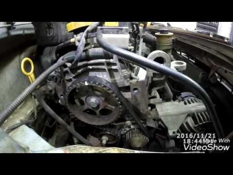 Замена ремня ГРМ Renault Logan 1.6MPI