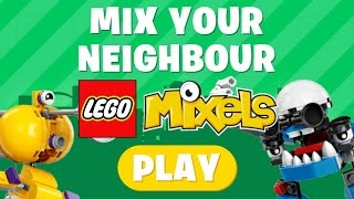getlinkyoutube.com-(TFAF) LEGO Mixels Mix Your Neighbour Gameplay #1 | YUS!