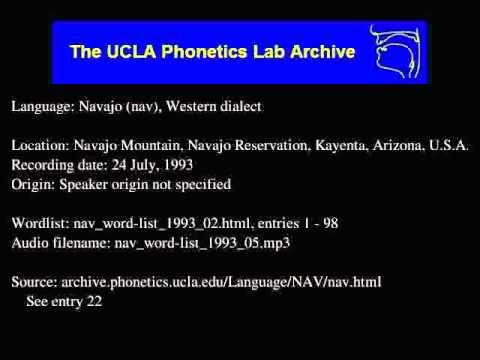 Navajo audio: nav_word-list_1993_05