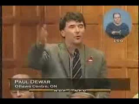 NDP: Paul Dewar on the UN Mission in Darfour  2