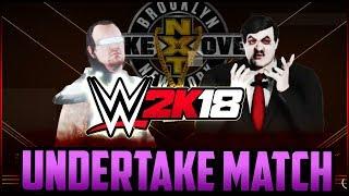 WWE 2K18: Paul Bearer vs Takertron 3000