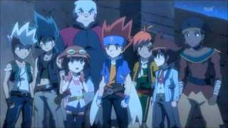 Beyblade Metal Fight 4D Episode 124 The Bladers of the Four Seasons Part 1