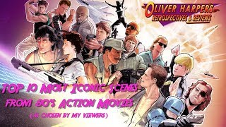 Top 10 Most Iconic Scenes from 80's Action Movies