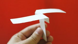 getlinkyoutube.com-How to make a paper helicopter that flies