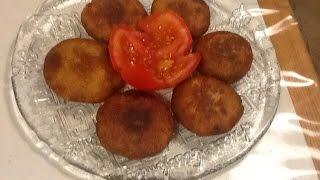 مطبخ الاكلات العراقية - بتيته چاب (كبة البطاطا)
