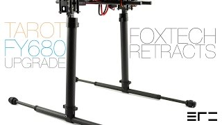 getlinkyoutube.com-Tarot FY680 Upgrade - Foxtech Retracts - eRC