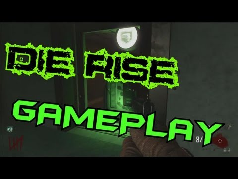 DIE RISE Gameplay - Bibite, Liquefattore, Trampolino, Easter Egg (Black Ops 2 DUAL Commentary)
