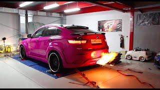 getlinkyoutube.com-BMW X6M  - Hello Kitty from hell - 666PS -  Simon MotorSport - Folge 69