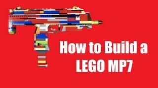 getlinkyoutube.com-How to Build a LEGO MP7