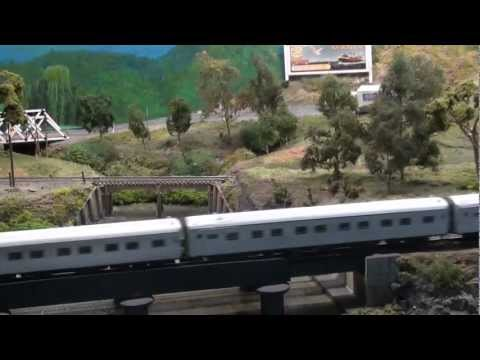 Australian passenger trains - AMRA Caulfield model railway exhibition 2012