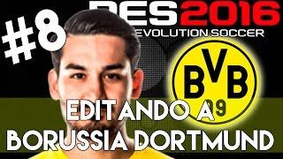 getlinkyoutube.com-PES 2016 | Abilities and face stats of Gundogan | Editando a Borussia Dortmund #8 | PS4.
