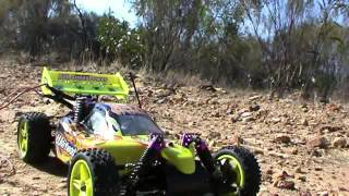 getlinkyoutube.com-New HSP RC CAR 1/10 2.4ghz 2Speed Nitro 4WD Off-Road Buggy Review 2013 Part 2