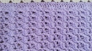 getlinkyoutube.com-Crochet Precious Angel Baby Blanket Set DIY Tutorial
