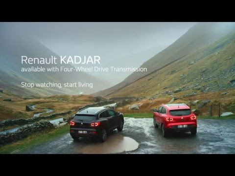 Renault Kadjar - Four wheel drive mode