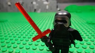 getlinkyoutube.com-LEGO STAR WARS EPISODE VII THE FORCE AWAKENS - KYLO REN V'S FINN AND REY