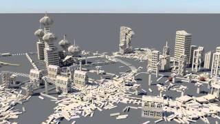 getlinkyoutube.com-KEVA plank destruction: PBS final project