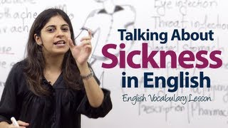 getlinkyoutube.com-Spoken English lesson - How to talk about Sickness?