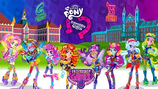 getlinkyoutube.com-My Little Pony MLP Equestria Girls Friendship Games Rarity And Pinkie Pie