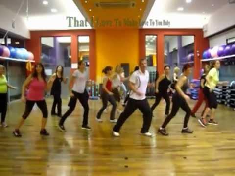 Jennifer Lopez - Dance Again - Hi - Low Aerobic Choreography - Back 2 Basics - 11/12/2012.