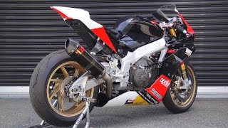 getlinkyoutube.com-Brutal Aprilia RSV4 exhaust sound compilation