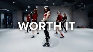 getlinkyoutube.com-Worth it - Fifth Harmony ft.Kid Ink / May J Lee Choreography