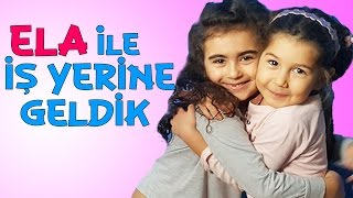 getlinkyoutube.com-Mira ve Arkadaşı Ela ile İşe Gittik | Oyuncak Oyunları | UmiKids