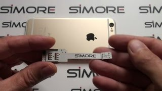 getlinkyoutube.com-iPhone 6 Dual SIM - How to convert single SIM iPhone 6 into Dual SIM with SIMore WX-Twin 6