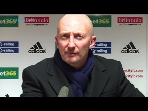 Ian Holloway rants at reporters