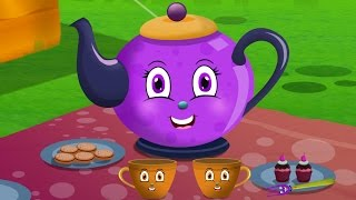 getlinkyoutube.com-I am a Little Teapot | Nursery Rhymes  for children and Kids Songs