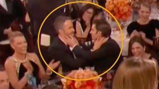 flushyoutube.com-Ryan Reynolds Kissed WHO at the Golden Globes? It's not Blake Lively!