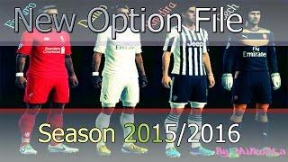 getlinkyoutube.com-New Option File 2015/2016 · SEASON 2016  · PES 2013
