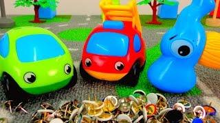 getlinkyoutube.com-Мультики про машинки. Маленький Непоседа - Новые Приключения Машинки! Игры для детей!