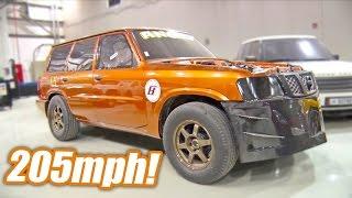 2,000hp Nissan Patrol - 205 MPH RECORD!